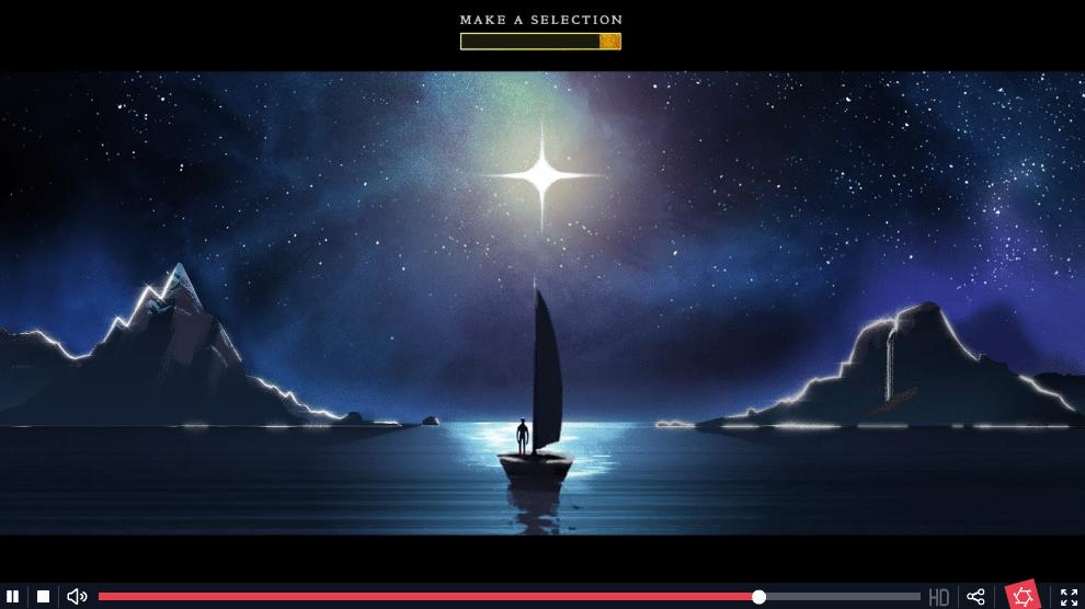 Interaktívne video Coldplay