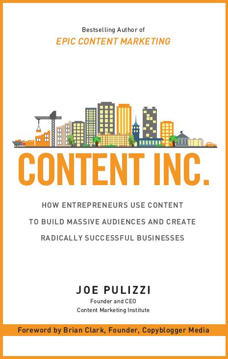 Obálka knihy Content Inc od Joa Pulizziho