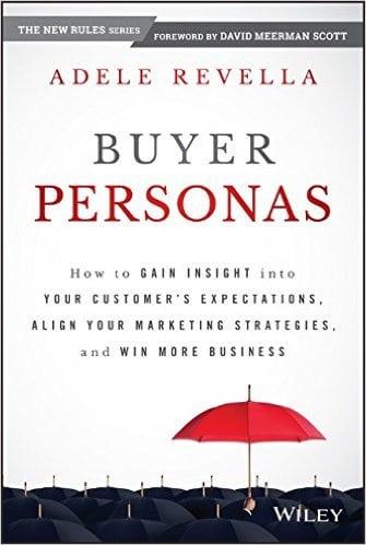 Obálka knihy Buyer Personas od Adele Revella