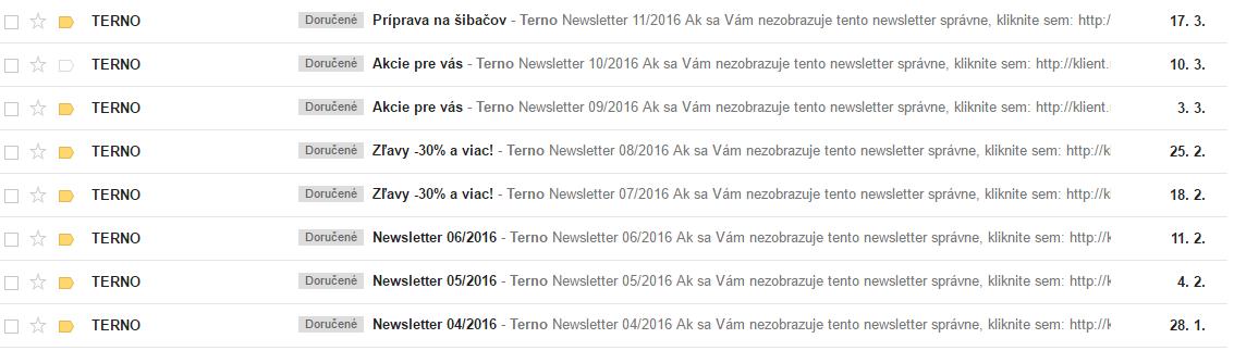 Neurčité predmety vašich newslettrov výrazne znižujú mieru ich otvárania (open rate)