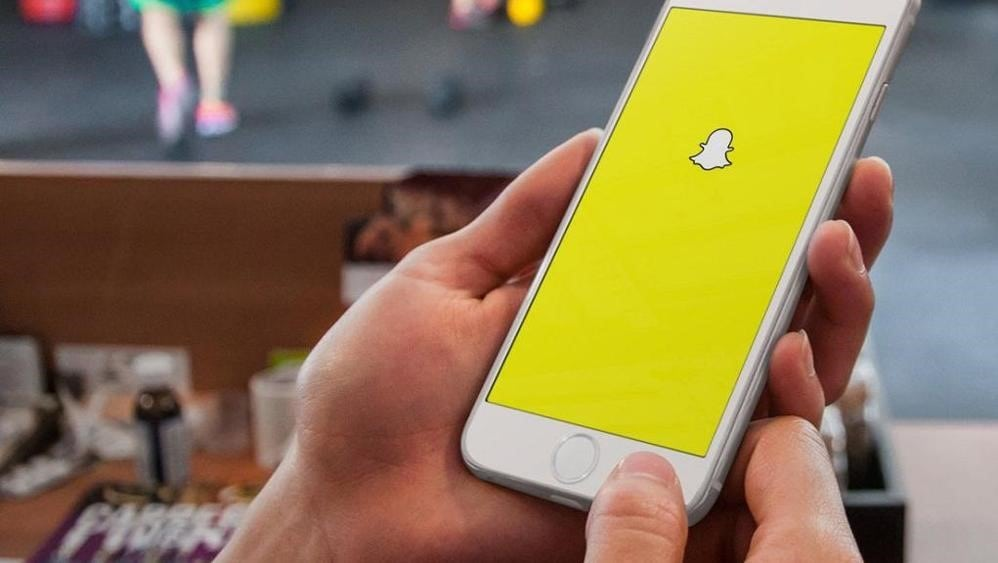 Obr. Sociálna sieť Snapchat a jej výstižné logo ducha/Zdroj: Pixabay.com