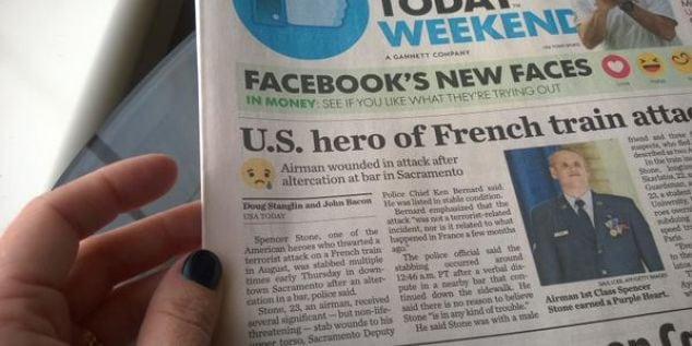 Nevhodné použitie emotikonov v novinách