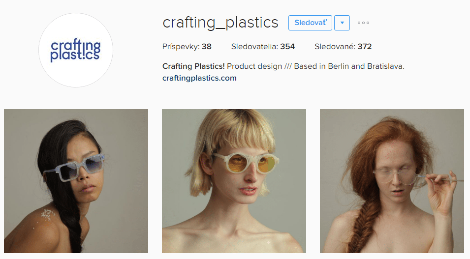 Instagram Crafting Plastics