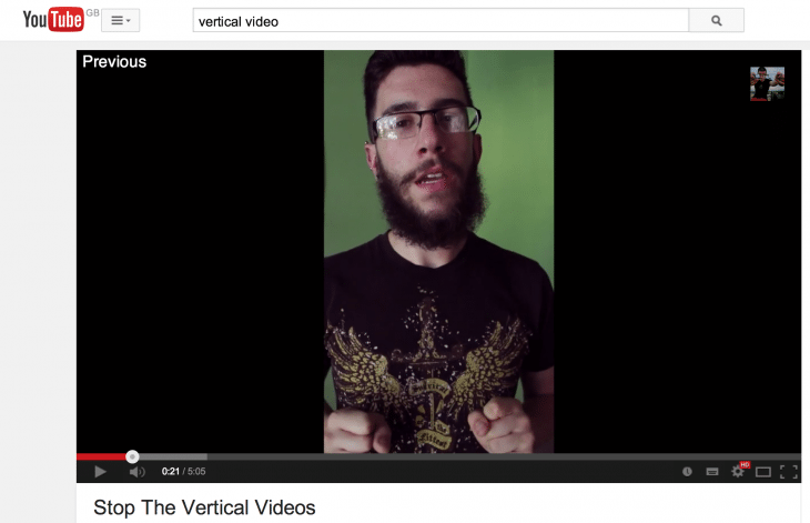 Vertikálne video
