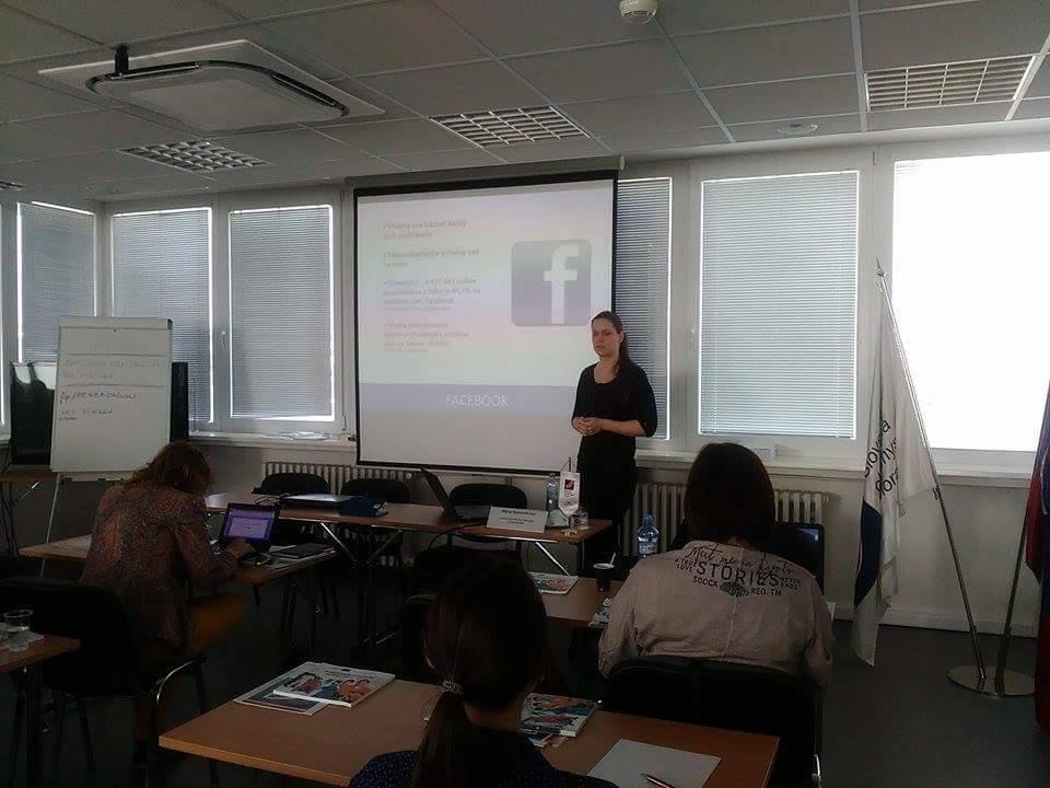 Workshop o Facebooku v SOPK