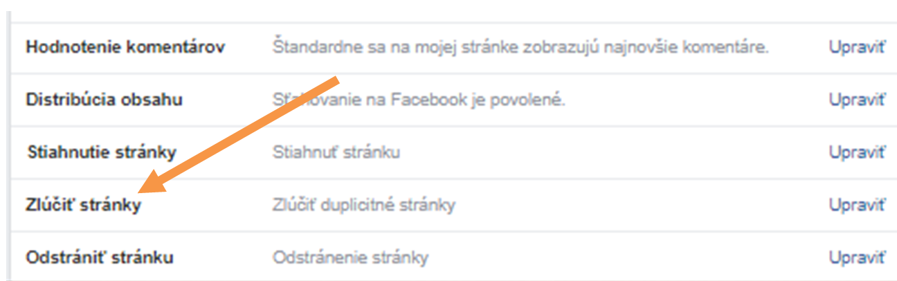 ako-zlucit-stranky-na-facebooku