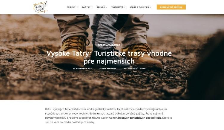 Travelcase - TMR Hotels - Turistické trasy vhodné pre najmenších
