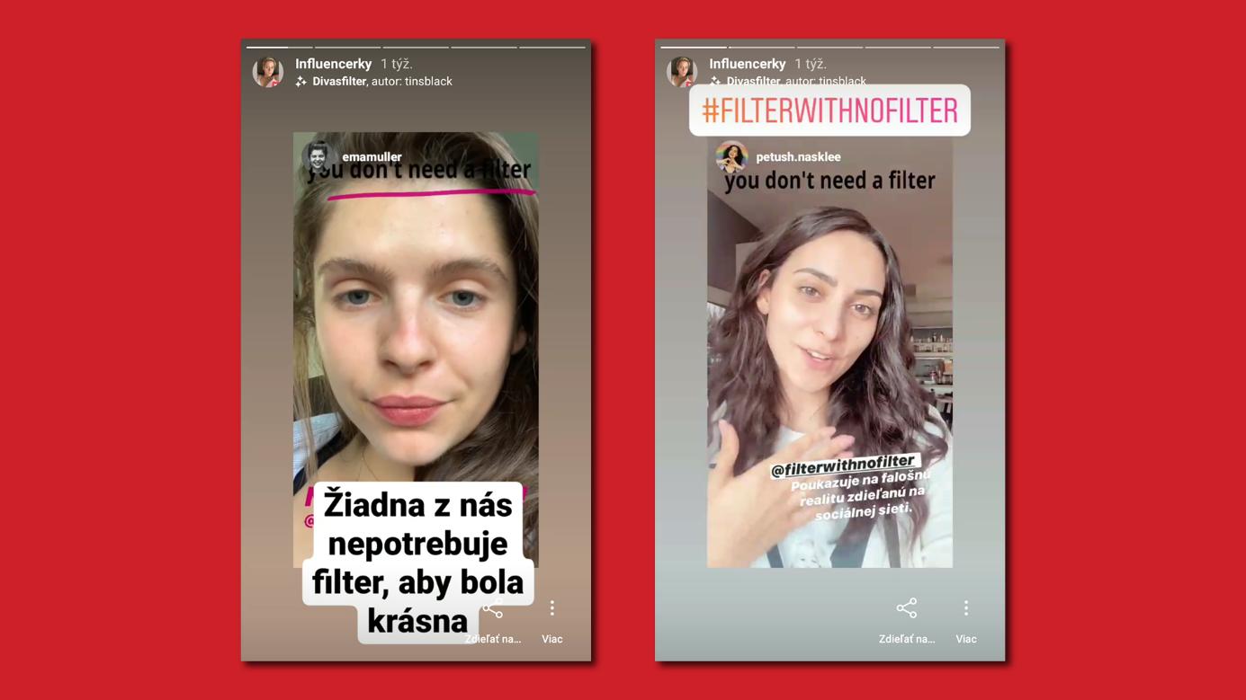 kampaň filtre