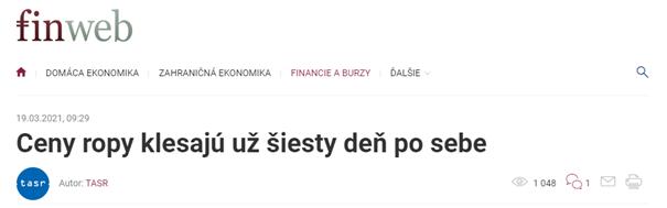 Správne uvedený dátum publikovania v článku na finweb.hnonline.sk